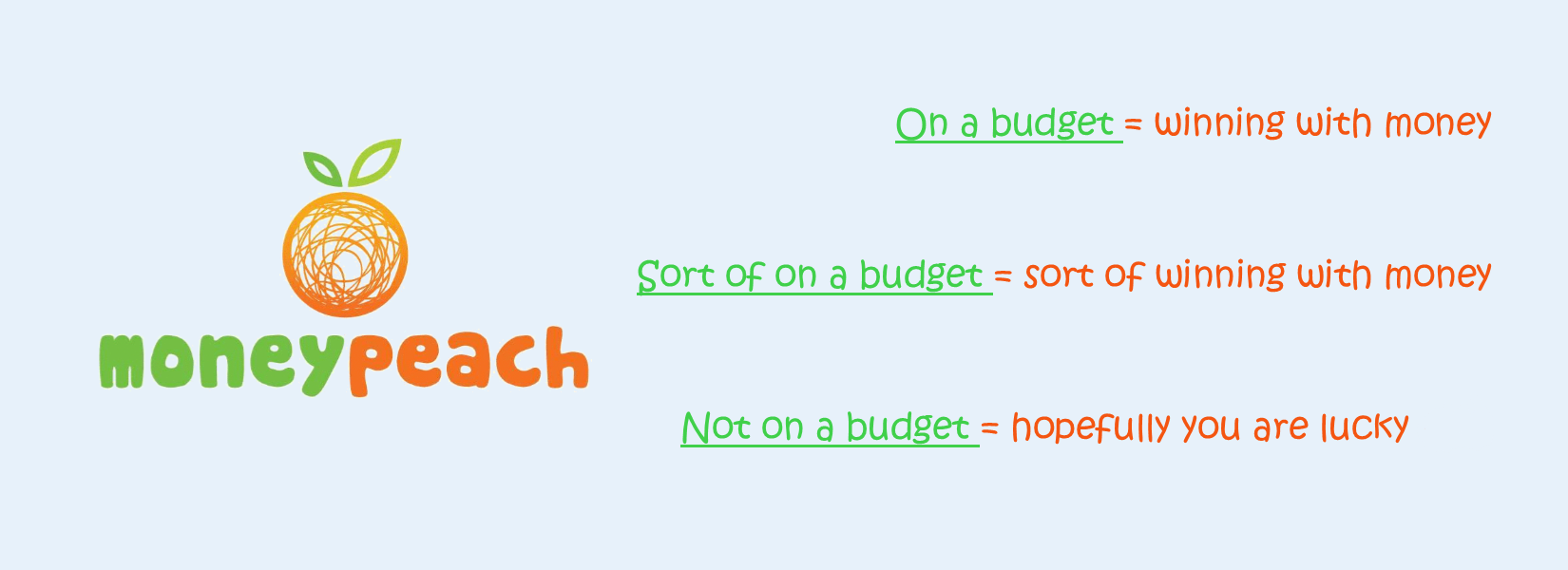 The Budget Banner