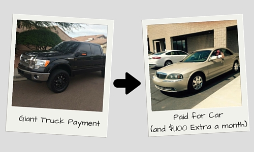 Giant Truck Payment