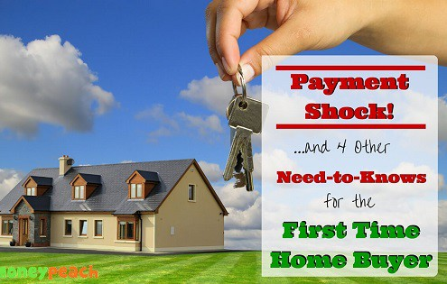 first time home buyer payment shock