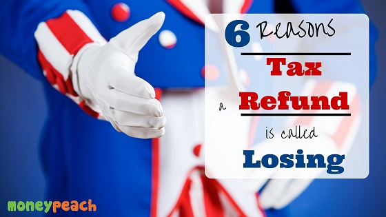 why you don't want a tax refund