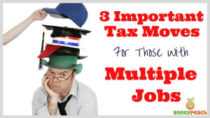 filing taxes with multiple jobs