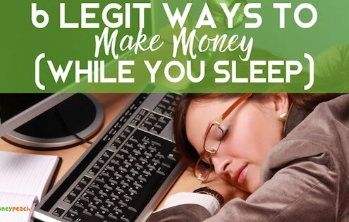 6 Legit Ways to Make Money (While You Sleep)