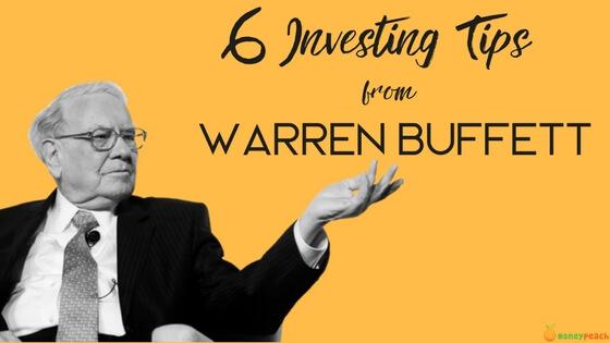 warren buffet tips