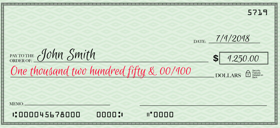 how to fill out a check 6 steps to check writing perfection